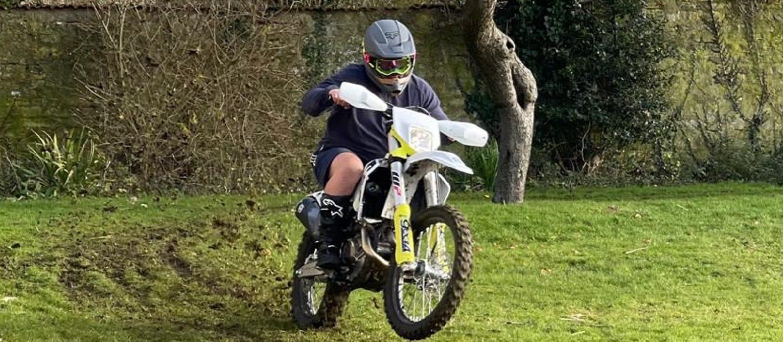 NFU Mutual - responsible business report - Ben Amis on motorbike (003)