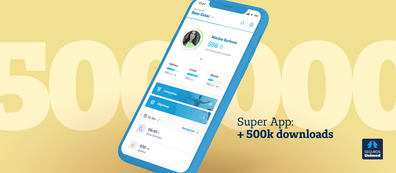 Seguros Unimed Super App - 500K downloads