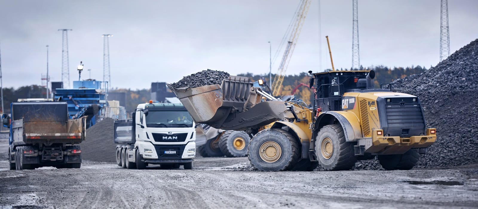 Photoshoot at a construction yard close by to Stockholm, 2019