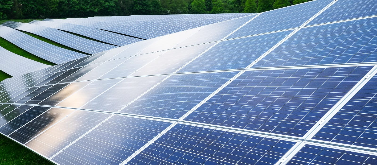 Solar farm in UK