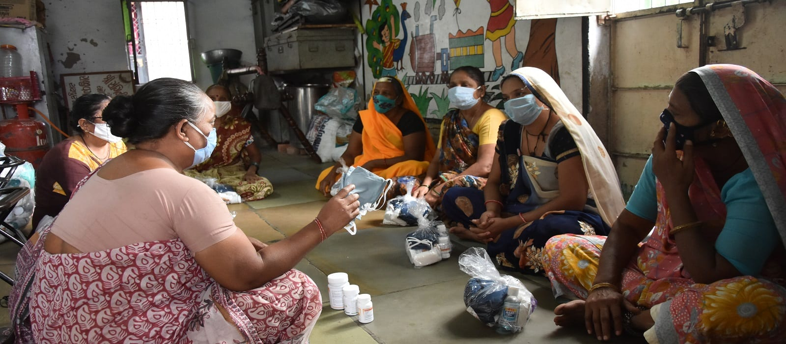UK Coops help SEWA - July 2021 - Information Sharing Session_Health Relief Work