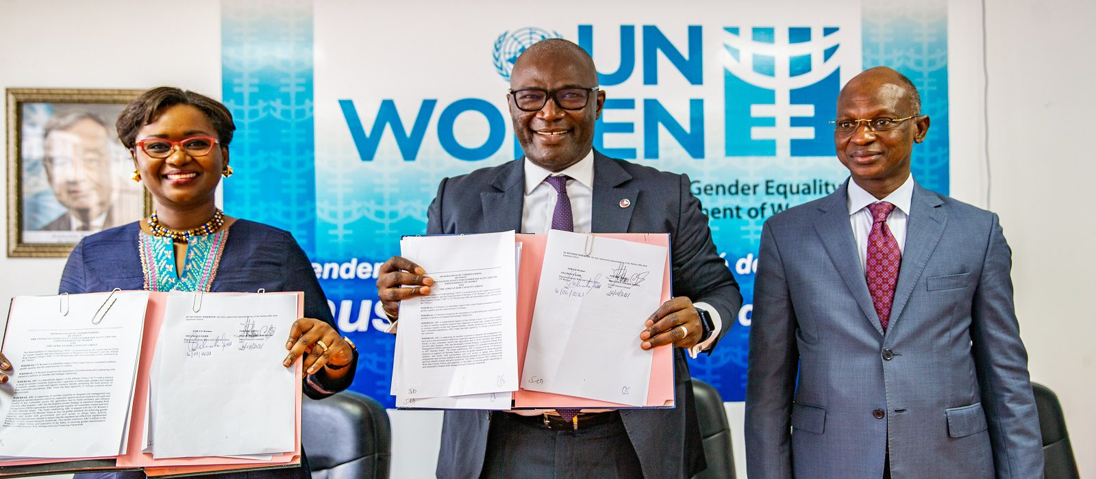 ARC and UN Women MOU - Sept 2021