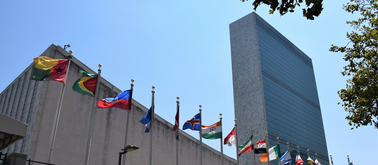 Siège des Nations unies (ONU), New York - 19 août 2019